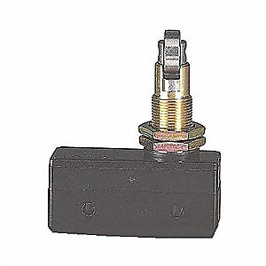 15A @ 480V Cross Roller, Panel Mount, Plunger Industrial Snap Action Switch; Series Z