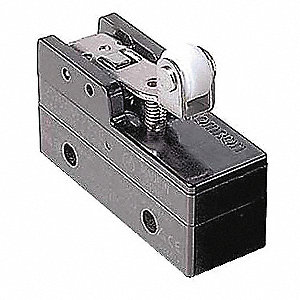 15A @ 480V Hinge Roller, Lever, Short Industrial Snap Action Switch&#x3b; Series Z