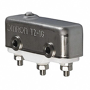 1A @ 240V Pin, Plunger Industrial Snap Action Switch; Series TZ