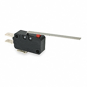 Miniature Snap Action Switch, SPDT Contact Form, 250VAC Voltage Rating, 21A Current Rating