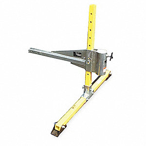 Aluminum/Steel Vehicle Hitch Mount Sleeve, Max. Working Load 450 lb., Yellow/Silver