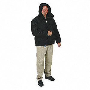 Hooded Arctic Coat,L