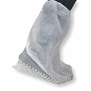 "Universal Boot Covers, Slip Resistant Sole: Yes, Waterproof: No, 18"" Height"