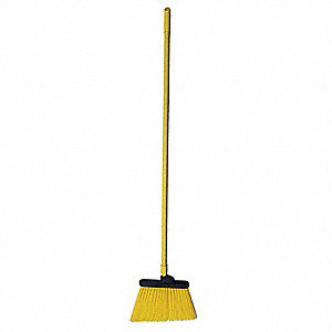 "Synthetic Angle Broom, 12"" Sweep Face"