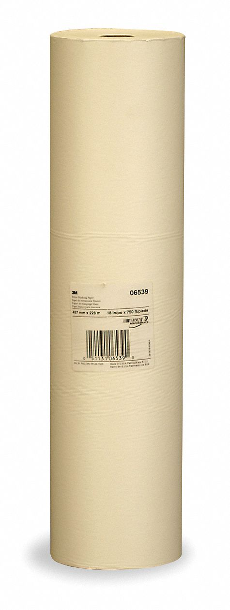 Specialty Coated Masking Paper, White