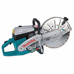 "14"" Wet/Dry Power Cutter, 4300 Max. RPM, 5.7 HP, 2-Cycle Gasoline Motor Type"