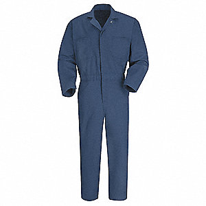 Coverall,Chest 48In.,Navy
