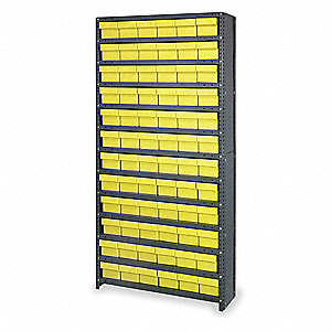 "Drawer Bin Cabinet, 75"" Overall Height, 36"" Overall Width, Number of Drawers or Bins 72"