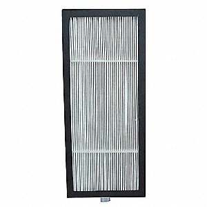 4-5/8x7/8x10-1/2 HEPA Filter For Use With 2HPE1, Frame Included: Yes