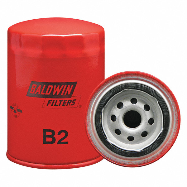 Baldwin Filters Oil Filter  Spin-on Filter Design - 2kxr7