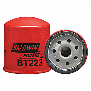 "Spin-On Oil Filter, Length: 3-1/2"", Outside Dia.: 2-29/32"", Micron Rating: 18"