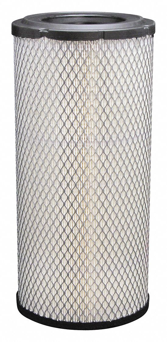 Air Filter, Radial, 14 1/32 in Height, 14 1/32 in Length, 6 1/2 in Outside Dia.