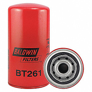 "Spin-On Oil Filter, Length: 7-1/8"", Outside Dia.: 3-11/16"", Micron Rating: 23"