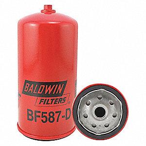 BALDWIN FILTERS Fuel Filter, Spin-On Filter Design - 2KYB6 BF587-D on baldwin hardware, baldwin diesel, baldwin interchange fleet quick cross, baldwin seahawks 29, baldwin lamps, baldwin amplifiers, baldwin cross reference chart,
