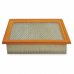 Air Filter,9-11/16 x 2-13/32 in.
