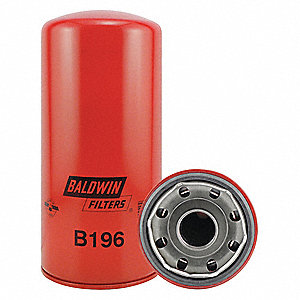 "Spin-On Oil Filter, Length: 9-15/16"", Outside Dia.: 4-21/32"", Micron Rating: 12"