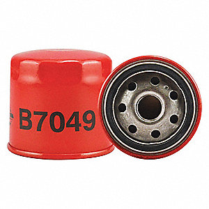 "Spin-On Oil Filter, Length: 2-27/32"", Outside Dia.: 3"", Micron Rating: 18"