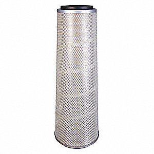 "Air Filter, Round, 29"" Height, 29"" Length, 7-13/32"" to 10-13/32"" Outside Dia."