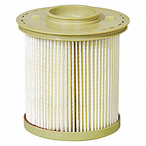 Fuel Filter,4-5/16 x 3-19/32 x 4-5/16 In