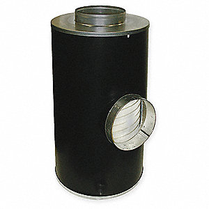 "Air Filter, Round, 19-13/16"" Height, 19-13/16"" Length, 11"" Outside Dia."