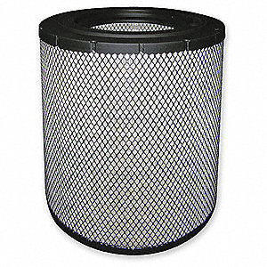 "Air Filter, Radial, 14-5/8"" Height, 14-5/8"" Length, 9-11/16"" Outside Dia."