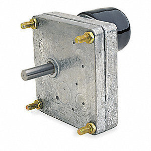 DC Gearmotor 12VDC, Nameplate RPM: 8.8, Max. Torque: 41.0 in.-lb., Enclosure: Vented