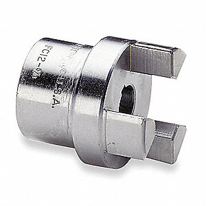 "FC15 1/2"" Steel Shaft Coupler Body, Keyway: Yes"