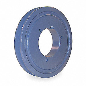 Split Taper Bushed Bore Standard V-Belt Pulley, For V-Belt Section: 4L, 5L, 5V, 5VX, A, AX, B, BX