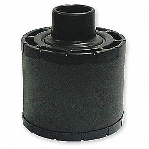 "Air Filter, Round, 10-3/8"" Height, 10-3/8"" Length, 6-1/2"" Outside Dia."
