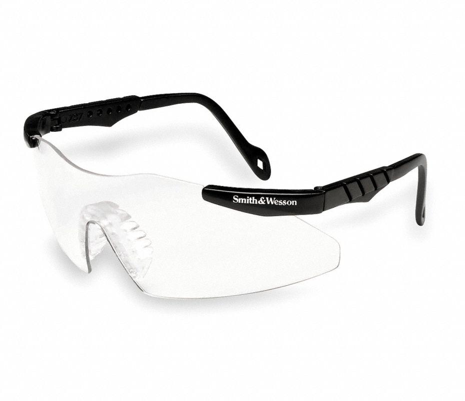 SMITH & WESSON Gafas Seg,Univ,Int/Ext,Neg/Trans,Bayonet - Gafas de ...