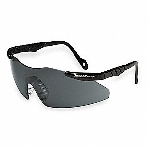 Magnum® 3G Scratch-Resistant Safety Glasses, Smoke Lens Color