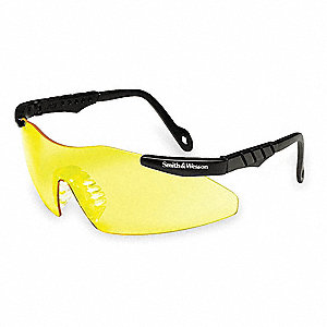 Smith & Wesson® Magnum 3G Scratch-Resistant Safety Glasses, Yellow Lens Color