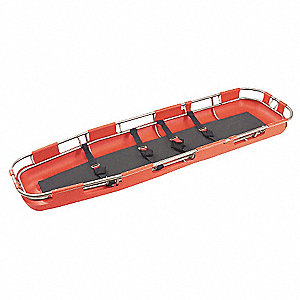 Basket Stretcher,2500 lb.,85 In.,Red