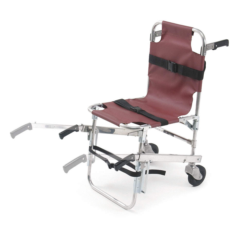Zoom Out/Reset Put photo at full zoom u0026 then double click.  sc 1 st  Grainger & FERNO Metal with Vinyl Cover Stair Chair with 350 lb. Weight ...
