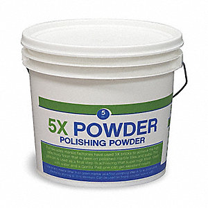 Stone Polish, 5 lb. Pail, Unscented Powder, Ready to Use, 1 EA