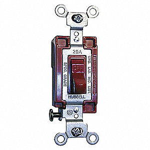 SWITCH,TOGGLE,1-POLE,120/277,1 HP,R