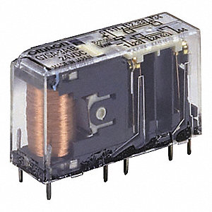 Force Guided Relay, 24VDC, 10 Pins, 6A @ 250V, 6A @ 30V, SPST-NC, 3PST-NO, 0.4W