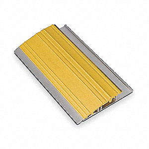 "Mounting Trim Kit, Yellow, 72"" Length, Aluminum Cover Material"