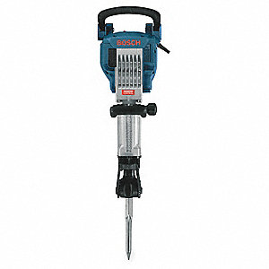 "1-1/8"" Hex Demolition Drive Hammer, 15 Amps @ 120V, 1300 Blows per Minute"