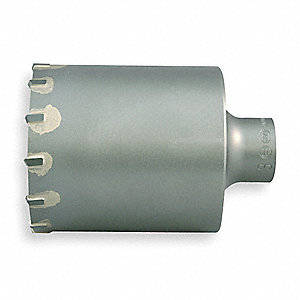 SDS Plus Core Bit,3 In,4 1/8 Cut D