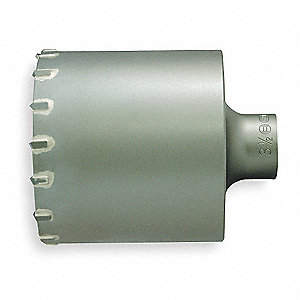 SDS Plus Core Bit,3 1/2 In, 4 1/8 Cut D