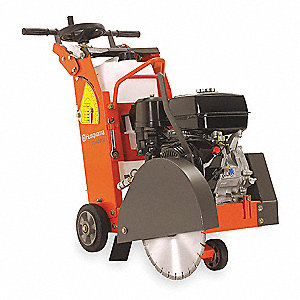 "18"" Walk Behind Concrete Saw, 11.7 HP Honda 4 Cycle Gasoline Engine"