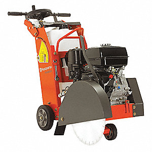 "18"" Walk-Behind Concrete Saw, 11.7 HP Honda 4 Cycle Gasoline Engine"