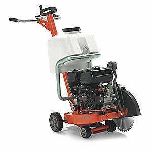 "14"" Walk Behind Concrete Saw, 8.5 HP Robin 4 Cycle Gasoline Engine"