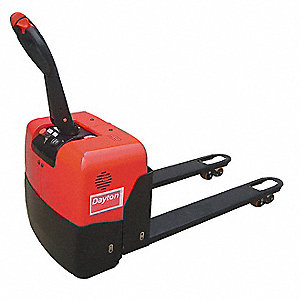 "Standard General Purpose Electric Pallet Jack, 3300 lb. Load Capacity, Fork Size: 6-5/16""W x 48""L, B"