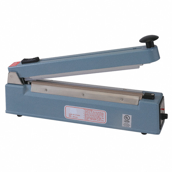 Grainger approved hand operated bag sealer seal length for General motors extended warranty plans