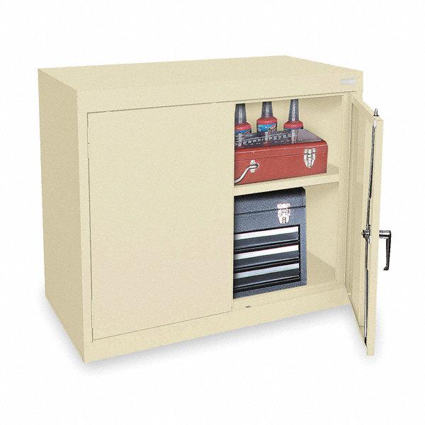 sandusky lee storage cabinet putty 30 overall height