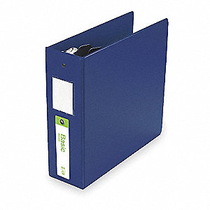 "3"" Basic Binder, Blue, 550-Sheet Capacity"