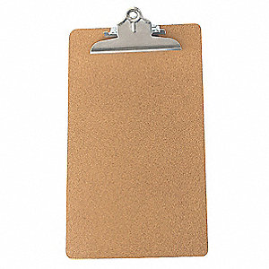 Clipboard,Legal Size,Hardboard,Brown