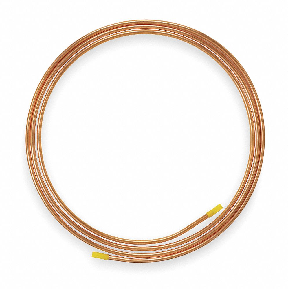 MUELLER INDUSTRIES 50 ft. Soft Coil Copper Tubing, 3/16\